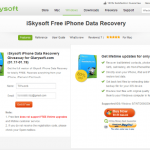 [iOS 資料救援] iSkysoft iPhone Data Recovery 幫你把 iPhone, iPad, iPod touch 不小心刪掉的東西找回來